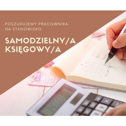 Praca - Samodzielny/a Księgowy/a