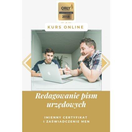 Redagowanie pism urzędowych - szkolenie internetowe