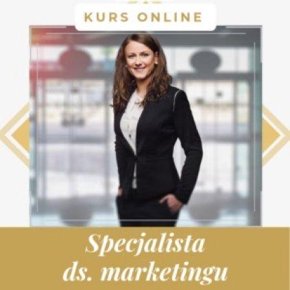 Specjalista ds. marketingu - kurs internetowy z certyfikatem