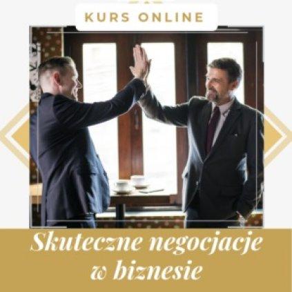 Negocjacje w biznesie - kurs online