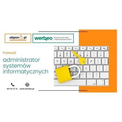 Administrator systemów informatycznych - praca stacjonarna Przemyśl
