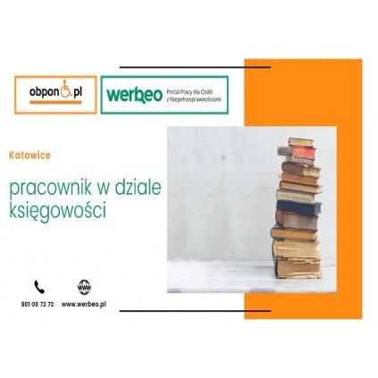Pracownik w dziale księgowości - Katowice / z orzeczeniem
