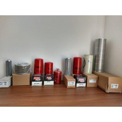 Sprzedam zestaw filtrów do maszyn budowlanych