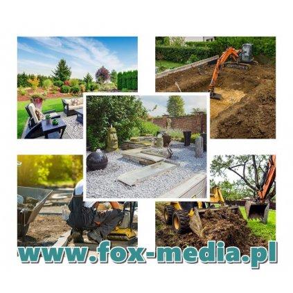 Profesjonalne zakładanie ogrodów, budowa ogrodów, ogrodnicze usługi